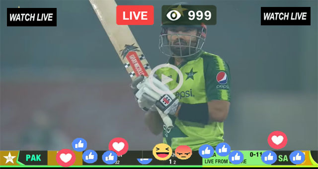 Pakistan vs South Africa 1st T20 PTV Sports Live